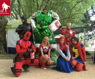 Urodziny Ligi Superbohaterów